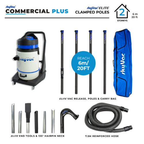 skyVac Commercial PLUS Pack Shot- 4 pole