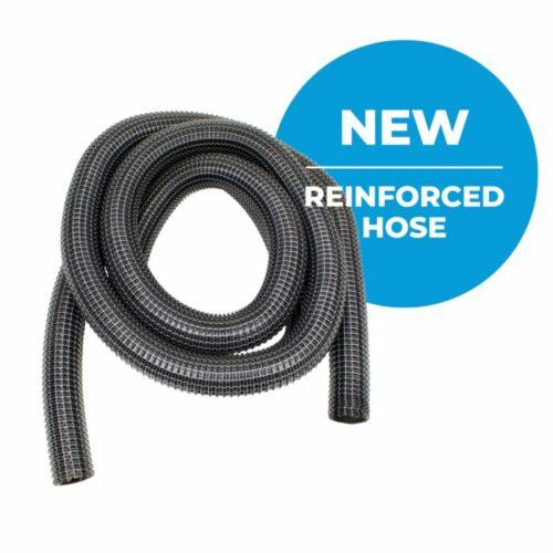 reinforced gutter vacuum hose