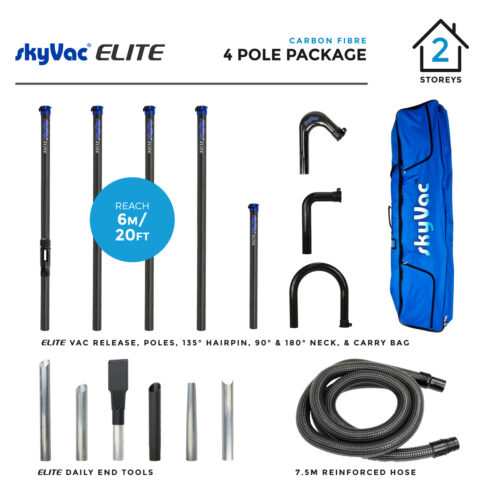 Elite 4 pole pack shot