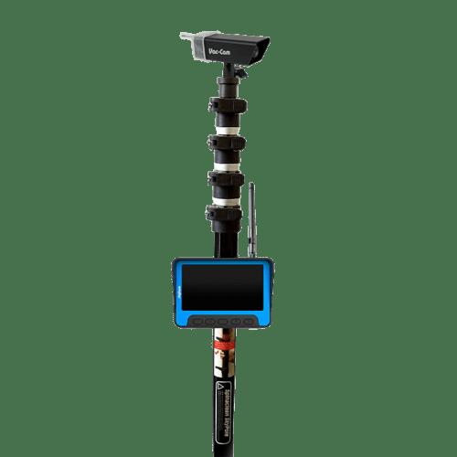skypole with camera