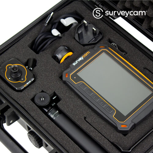surveycam in display case