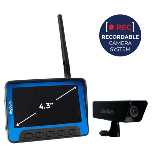 skyVac® Recordable camera system