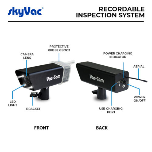 Recordable camera monitor key features