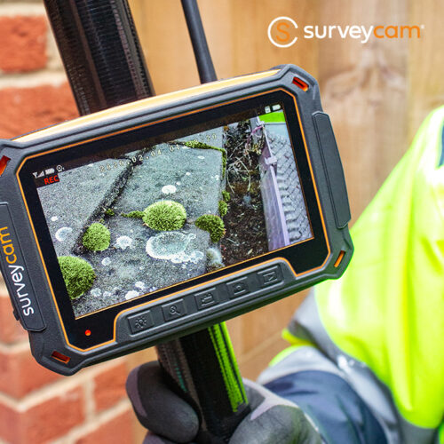 Gutter Cleaning on the surveycam